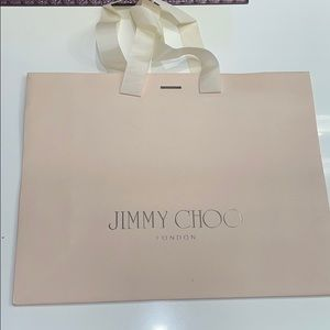 Jimmy Choo authentic shopping bag